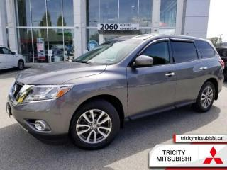 Used 2015 Nissan Pathfinder S  7 PASSENGER-BACK UP CAM for sale in Port Coquitlam, BC