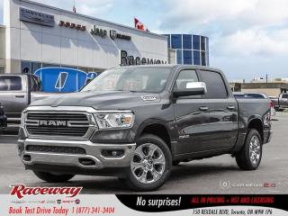 New 2019 RAM 1500 Big Horn for sale in Etobicoke, ON