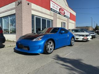 Used 2011 Nissan 370Z RARE BABY BLUE/ CARBON FIBER HOOD/ AMUSE BODY KIT/ 332HP for sale in North York, ON