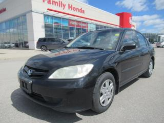 Used 2005 Honda Civic SE, SPECIAL EDITION for sale in Brampton, ON