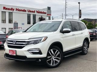Used 2017 Honda Pilot Touring - Navigation - DVD - Running Boards for sale in Mississauga, ON