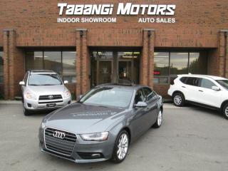 Used 2014 Audi A4 PROGRESSIVE   NO ACCIDENTS   NAVIGATION   LEATHER   SUNROOF for sale in Mississauga, ON