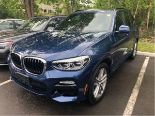 Used 2018 BMW X3 xDrive30i M SPORT for sale in Ottawa, ON