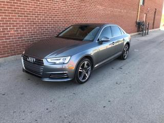 Used 2017 Audi A4 4dr Sdn Auto Technik quattro for sale in Mississauga, ON