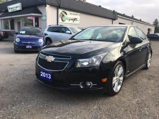 Used 2013 Chevrolet Cruze 2LT Manual for sale in Bloomingdale, ON