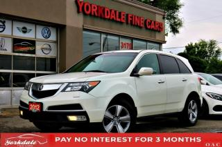 Used 2012 Acura MDX TECH PKG DVD NAVI BACK UP CAMERA LEATHER SUNROOF 7 PASSENGER for sale in Toronto, ON