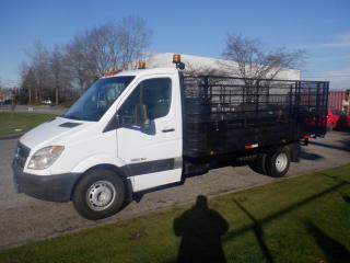 Used 2007 Dodge Sprinter 3500 Flat Deck Diesel 3 Seater 15.4 Foot Deck for sale in Burnaby, BC