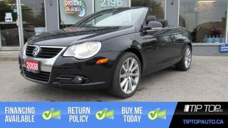 Used 2008 Volkswagen Eos 2.0T Trendline ** Converitible, Manual, Leather ** for sale in Bowmanville, ON