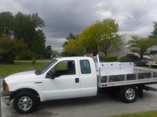 Used 2006 Ford F-250 SD 9 Foot Flat Deck SuperCab 2WD for sale in Burnaby, BC