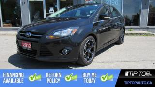 Used 2012 Ford Focus Titanium **Nav, Leather, Sunroof** for sale in Bowmanville, ON