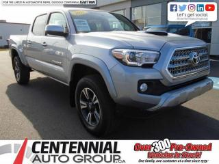 Used 2017 Toyota Tacoma 4x4 Double Cab V6 TRD Sport for sale in Summerside, PE