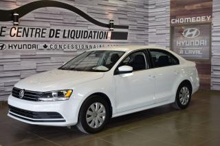 Used 2017 Volkswagen Jetta Trendline for sale in Laval, QC
