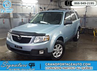 Used 2008 Mazda Tribute AWD, BAS KILOMETRAGE, V6,  automatique G for sale in Rivière-Du-Loup, QC