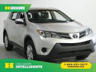 Used 2015 Toyota RAV4 LE A/C GR ELECT for sale in St-Léonard, QC