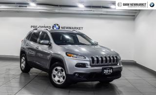 Used 2016 Jeep Cherokee 4x4 North -LOW KMS  for sale in Newmarket, ON