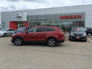 Used 2016 Hyundai Santa Fe XL AWD Limited for sale in Smiths Falls, ON