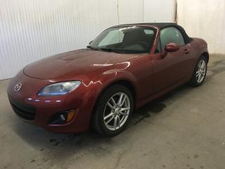 Used 2009 Mazda Miata MX-5 Miata Convertible A/C MAGS Régulateur de Vitesse *Bas Kilométrage* for sale in Trois-Rivières, QC