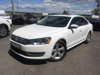 Used 2013 Volkswagen Passat Cuir-toit-ouvrant spÉcial de la semaine! for sale in Carignan, QC