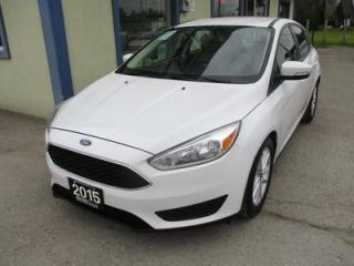 Used 2015 Ford Focus FUEL EFFICIENT SE MODEL 5 PASSENGER 2.0L - DOHC.. FLEX FUEL.. BLUETOOTH.. BACK-UP CAMERA.. SYNC TECHNOLOGY.. for sale in Bradford, ON