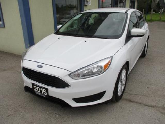 2015 Ford Focus FUEL EFFICIENT SE MODEL 5 PASSENGER 2.0L - DOHC.. FLEX FUEL.. BLUETOOTH.. BACK-UP CAMERA.. SYNC TECHNOLOGY..