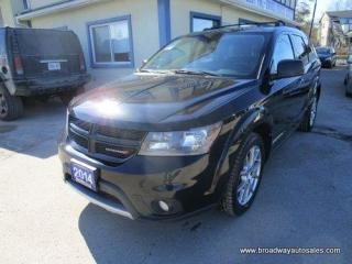 Used 2014 Dodge Journey ALL-WHEEL DRIVE R/T EDITION 5 PASSENGER 3.6L - V6.. NAVIGATION.. LEATHER.. HEATED SEATS & WHEEL.. BACK-UP CAMERA.. POWER SUNROOF.. BLUETOOTH.. for sale in Bradford, ON