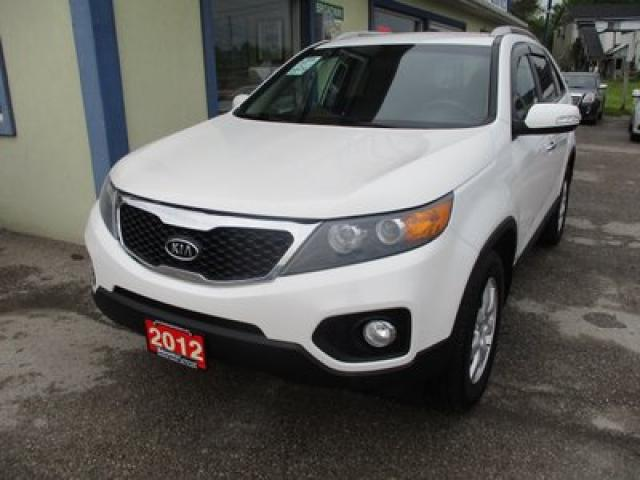 2012 Kia Sorento ALL-WHEEL DRIVE LX MODEL 5 PASSENGER 2.4L - DOHC.. HEATED SEATS.. BLUETOOTH.. KEYLESS ENTRY..