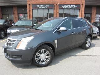 Used 2010 Cadillac SRX 4 3.0L 10,995+HST+LIC FEE / CERTIFIED / PANORAMIC ROOF for sale in North York, ON