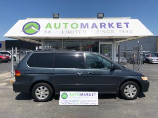 Used 2003 Honda Odyssey EX-L LEATHER! LOADED! FREE BCAA! FINANCE IT! for sale in Langley, BC