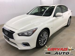 Used 2018 Infiniti Q50 2.0t Awd Luxe Gps for sale in Shawinigan, QC
