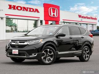 Used 2017 Honda CR-V Touring Sold Pending Customer Pick Up..Reverse Assist Camera, Bluetooth and More! for sale in Waterloo, ON