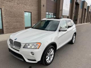 Used 2013 BMW X3 Premium cuir/toit/nav for sale in St-Eustache, QC