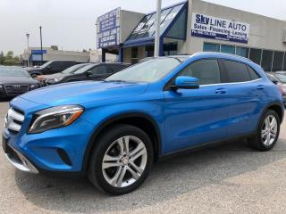 Used 2015 Mercedes-Benz GLA 1 OWNER|ACCIDENT FREE|NAVIGATION|LEATHER|HEATED SEATS|CERTIFIED|ALLOYS| for sale in Concord, ON