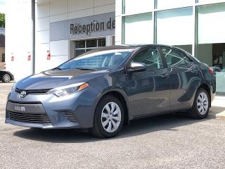Used 2016 Toyota Corolla LE - CAMERA - SIEGES CHAUFFANTS - AUTO for sale in Trois-Rivières, QC
