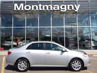 Used 2010 Toyota Corolla Berline 4 portes, boîte automatique, LE for sale in Montmagny, QC