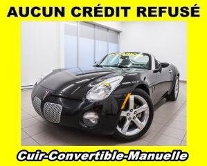 Used 2006 Pontiac Solstice Convertible Cuir for sale in Mirabel, QC