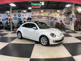 Used 2015 Volkswagen Beetle Coupe 1.8TSI COMFORTLINE LEATHER PANO/ROOF CAMERA 55K for sale in North York, ON