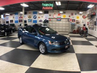 Used 2015 Volkswagen Jetta Sedan 2.0L TRENDLINE  AUT0 A/C SUNROOF REAR CAMERA 48K for sale in North York, ON