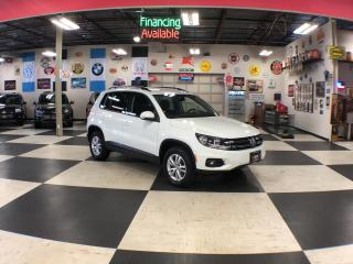 Used 2016 Volkswagen Tiguan 2.0 TSI 6SPEED A/C BACKUP CAMERA H/SEATS 69K for sale in North York, ON