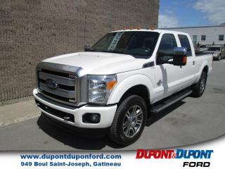 Used 2016 Ford F-250 4 RM, Cabine multiplaces 156 po, PLATINU for sale in Gatineau, QC