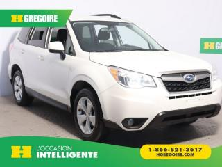 Used 2015 Subaru Forester I CONVENIENCE AWD for sale in St-Léonard, QC