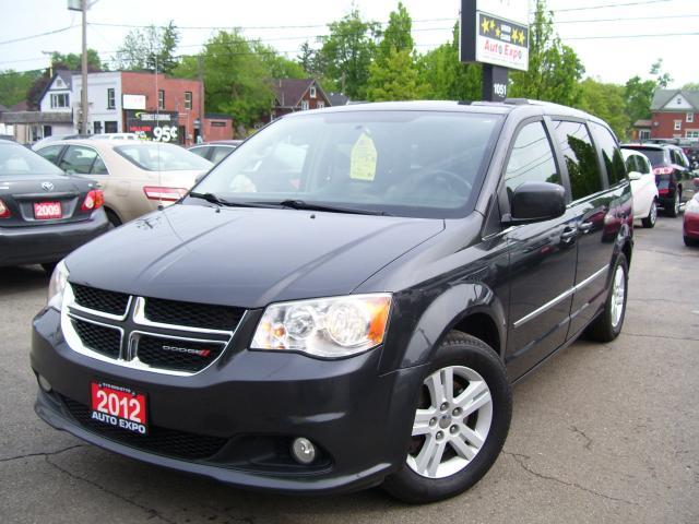 2012 Dodge Grand Caravan Crew,One Owner,Certified,Local Car,None Smoker