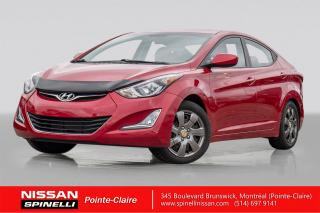 Used 2015 Hyundai Elantra Gls T.ouvrant for sale in Montréal, QC