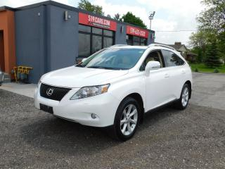 Used 2011 Lexus RX 350 NAVIGATION|BLUETOOTH|AWD|SUNROOF for sale in St. Thomas, ON