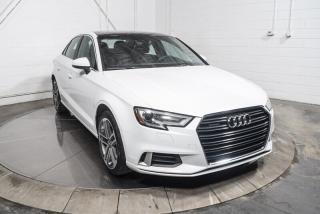 Used 2017 Audi A3 PROGRESSIV QUATTRO for sale in Île-Perrot, QC