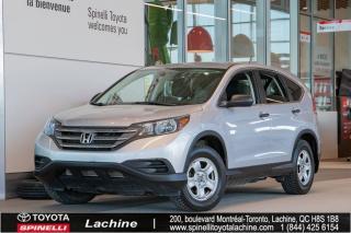 Used 2014 Honda CR-V LX SIÈGES CHAUFFANT! BLUETOOTH! CAMÉRA DE RECUL! AIR CLIMATISÉ! SUPER PRIX! FAITES VITE! for sale in Lachine, QC