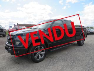 Used 2014 Ford F-150 Cab SuperCrew 4RM 145 po FX-4 for sale in Lévis, QC