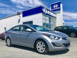 Used 2015 Hyundai Elantra 4 portes GL automatique for sale in Matane, QC