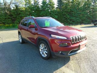 Used 2016 Jeep Cherokee Limited 4WD V6 for sale in Beaverton, ON