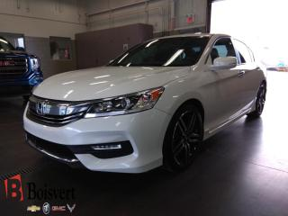 Used 2017 Honda Accord Sport/toit/cuir/sieg for sale in Blainville, QC