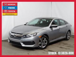 Used 2017 Honda Civic Lx+a/c+bluetooth+siè for sale in Drummondville, QC